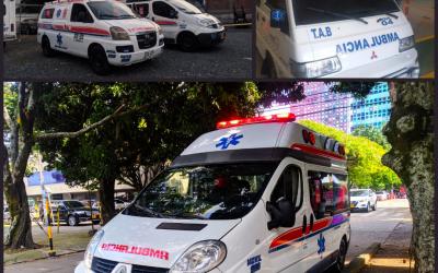 ¿Cuales son los tipos de servicio de una Ambulancia?